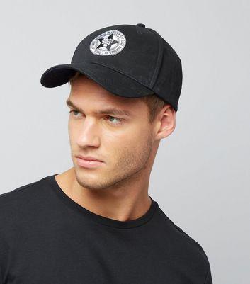Black Badge Cap New Look