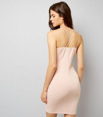 AX Paris Pink Strappy Dress New Look
