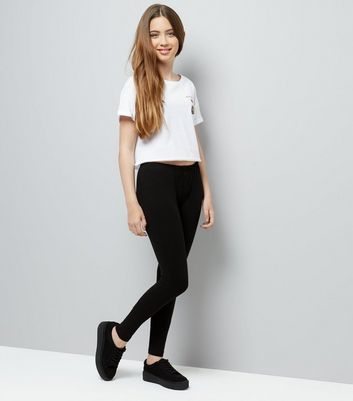 Teens 2 Pack Black Leggings New Look