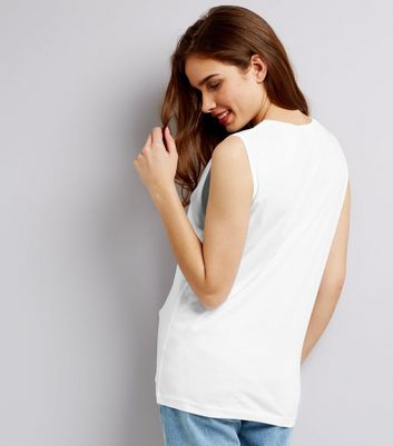 White Tank Top New Look