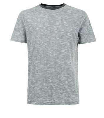 Grey Marl T-Shirt New Look