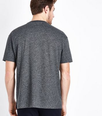 Light Grey Pocket Front T-Shirt New Look
