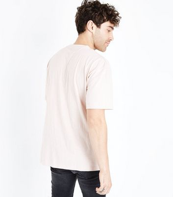 Pink Pocket Front T-Shirt New Look
