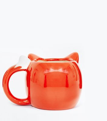Orange Fox Mug New Look