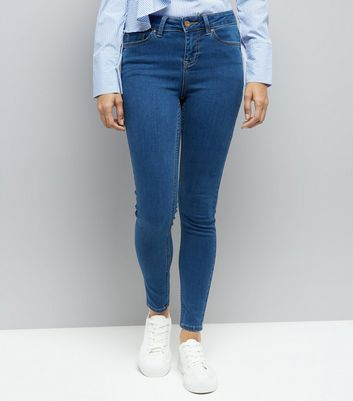 Pettie Blue Super Soft Skinny Jeans New Look