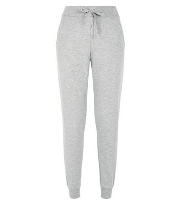 Grey Slim Leg Joggers New Look