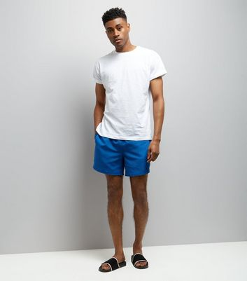 Blue Swimming Shorts New Look