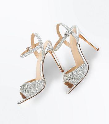 silver-glitter-gem-embellished-heeled-sandals