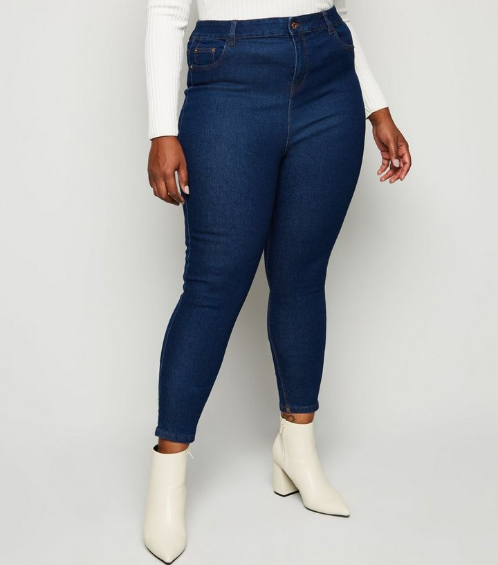 cdcfd76da36 ... Curves Blue High Waist Skinny Jeans. ×. ×. ×. Shop the look