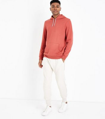 Rust Pocket Front Hoodie New Look