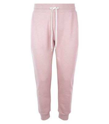 Pale Pink Joggers New Look
