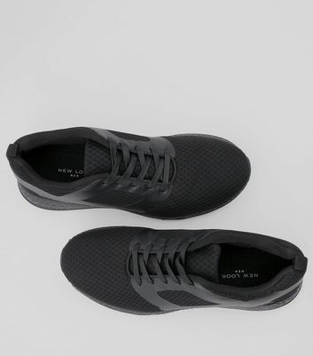 black-runner-lace-up-trainers