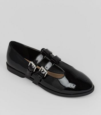 teens-black-patent-double-strap-school-shoes