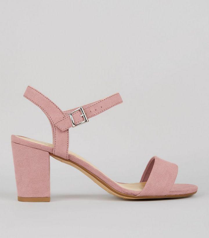 7d972098143 ... Teens Pink Suedette Block Heeled Sandals. ×. ×. ×. VIDEO Shop the look