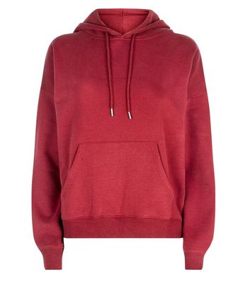 Plum Oversized Hoodie New Look