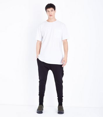 White Pocket Front Boxy T-Shirt New Look