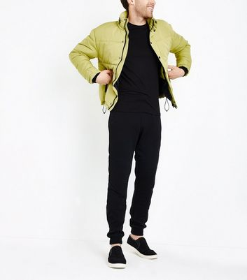 Green Puffer Jacket New Look