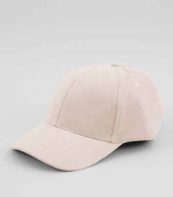 Pink Suedette Cap New Look