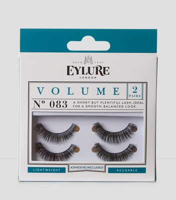 2 Pack Volume False Lashes New Look