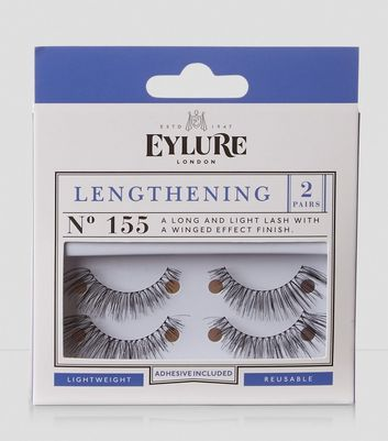 2 Pack Lengthening False Lashes New Look