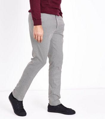 New Poule Pantalon Noir De Motif Look À Skinny Pied 1qxqwaf0