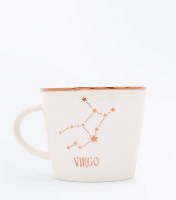 Shell Pink Virgo Zodiac Mug New Look