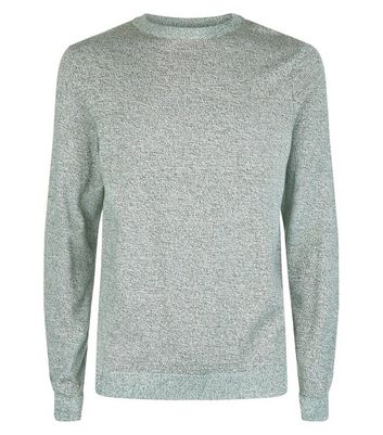 Green Cotton Crew Neck Jumper New Look