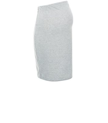 maternity-grey-jersey-midi-skirt