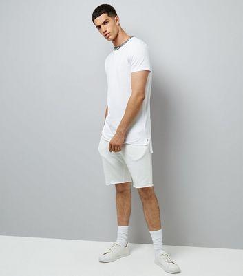 white-text-tape-ringer-t-shirt