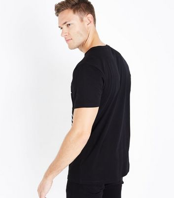Black City Print T-Shirt New Look