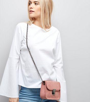 Pink Mini Cross Body Bag New Look
