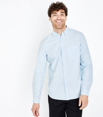 Pale Blue Oxford Long Sleeve Shirt