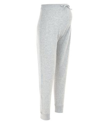 Maternity Grey Sunday Joggers New Look