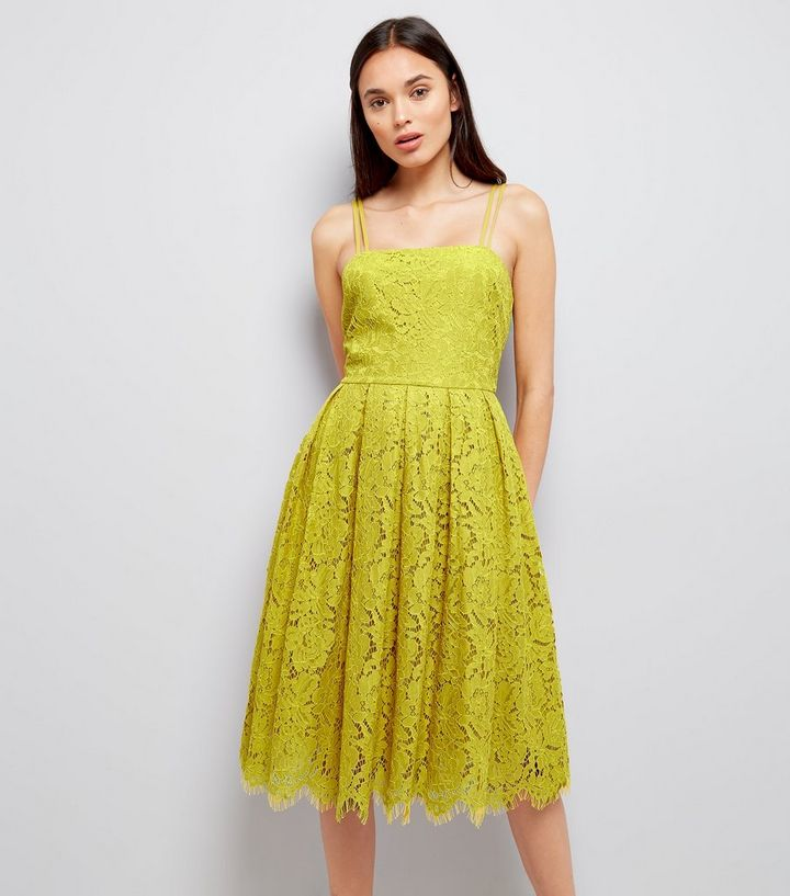 cf6c92e8be482 Green Premium Strappy Lace Dress Add to Saved Items Remove from Saved Items
