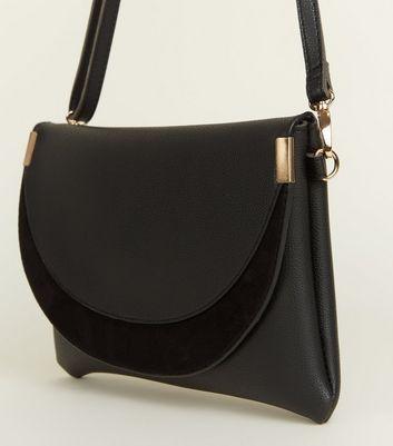Black Cross Body Bag New Look