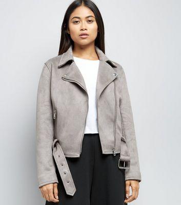 Petite veste grise femme