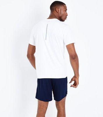 Navy Running Shorts New Look