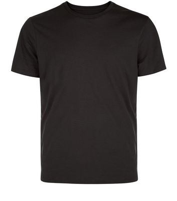 Black Crew Neck T-Shirt New Look