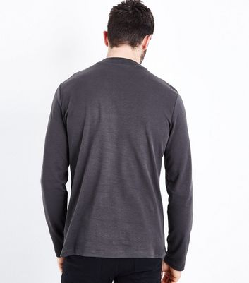 Charcoal Grey Turtle Neck Jumper New Look