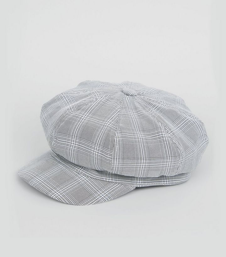 f09dab7ed76ef ... Grey Check Baker Boy Hat. ×. ×. ×. Shop the look