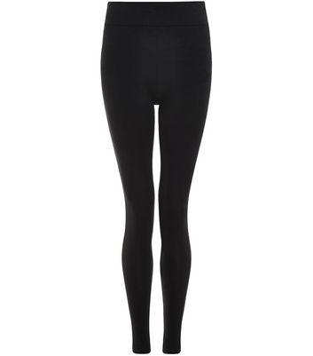 Tall Black High Waist Leggings New Look