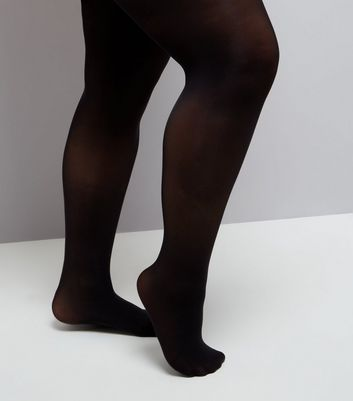Curves Black 50 Denier Tights