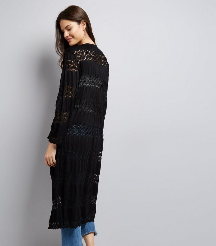 a947613d3 ... Cameo Rose Black Crochet Lace Maxi Kimono. ×. ×. ×. Shop the look