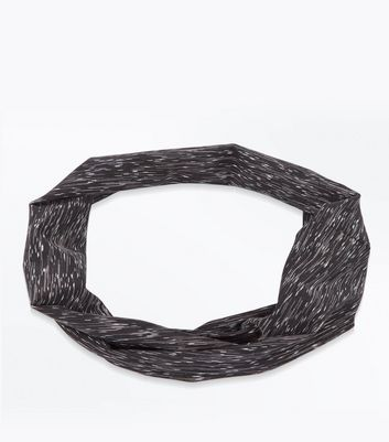 black-space-dye-print-stretch-headband
