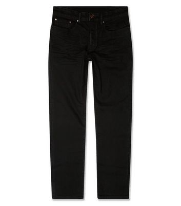 Black Straight Fit Jeans New Look