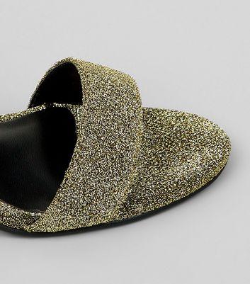 gold-glitter-cone-heel-sandals
