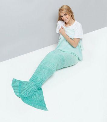 Blue Ombre Mermaid Blanket New Look