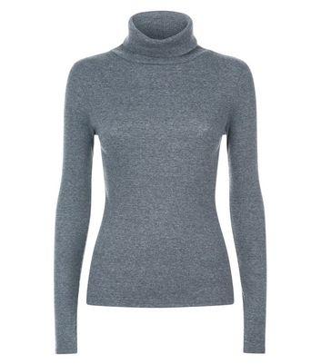 dark-grey-ribbed-funnel-neck-top
