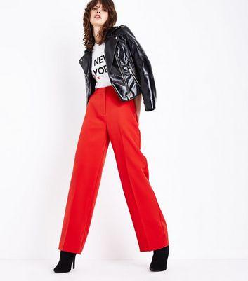 Pantalon Rouge LargeNew Look LargeNew Look Pantalon Rouge Pantalon f76gYby