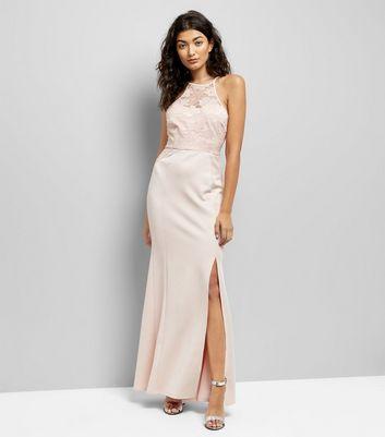AX Paris Pink Lace Top Maxi Dress New Look